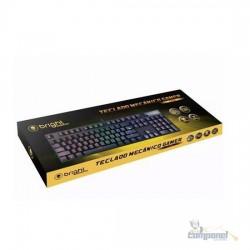 Teclado Mecânico Gamer Bright Tank, Led Gtc560